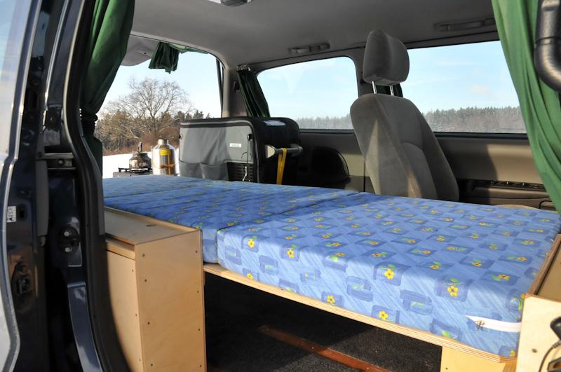 Bett In Auto Bauen Die Neuesten Innenarchitekturideen